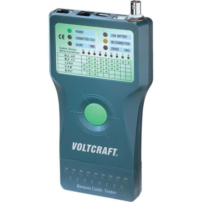 Testeur de câbles Voltcraft CT-5