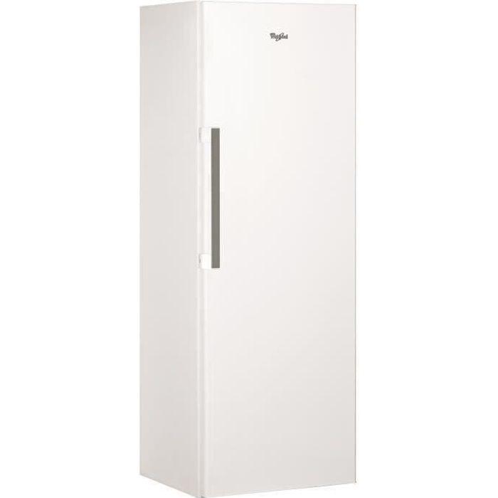 WHIRLPOOL SW8AM2QW2 - Réfrigérateur Armoire - 364L - Froid Brassé A++ - L 59,5 cm x H 187,5 cm - Blanc