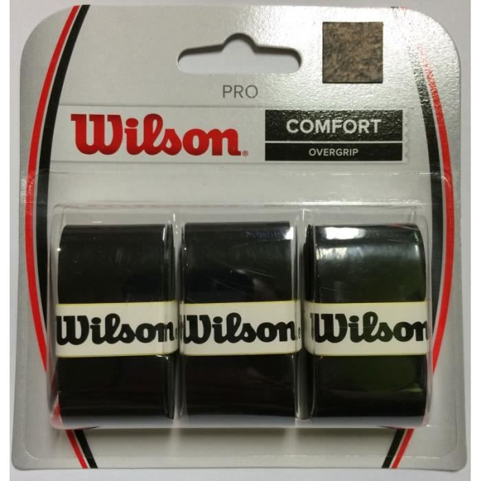 Surgrip WILSON Pro Overgrip Noir x3