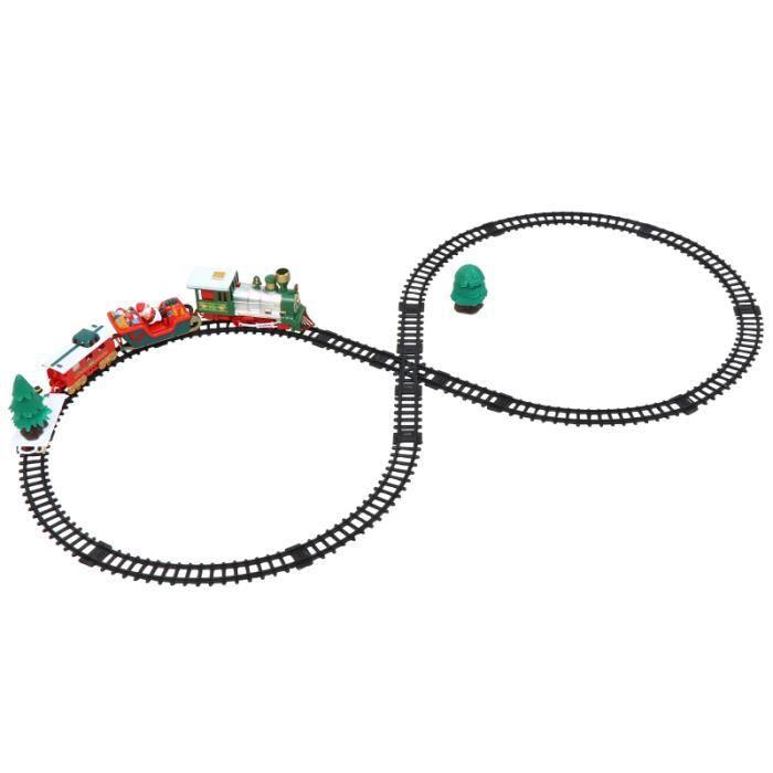 1 boîte de jouet de train électrique de Noël pour enfants de avec en VEHICULE POUR CIRCUIT MINIATURE