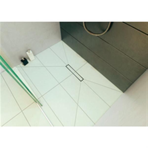 Wirquin Caniveau douche à l italienne Venisio Slim - 500 mm