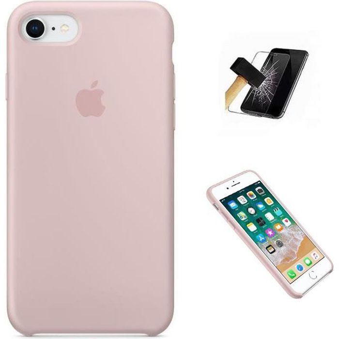 apple coque en silicone pour iphone 7 iphone 8 ro
