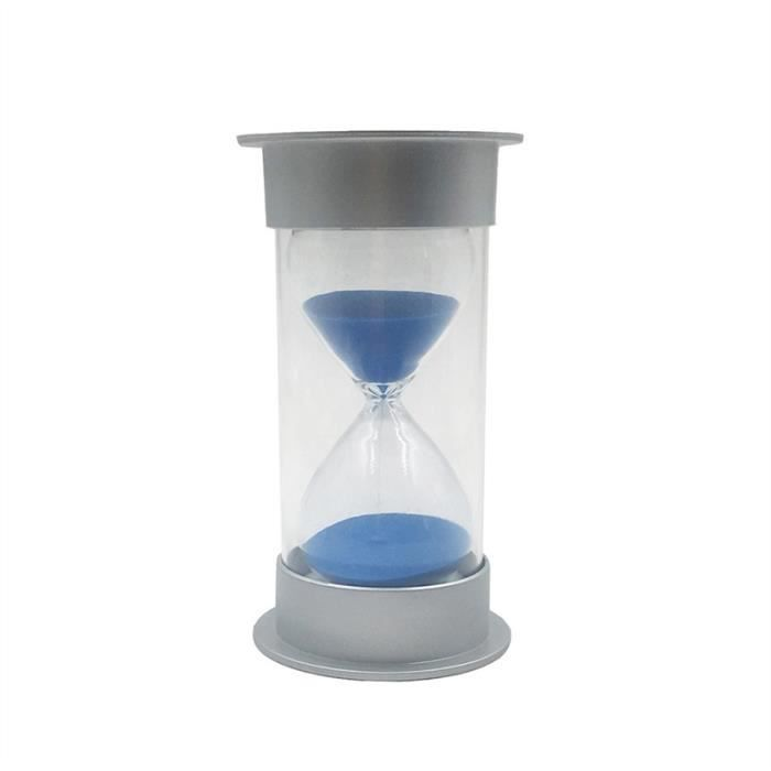 30//60 Minute Horloge Sable Sandglas Minuterie Cadeau Décor Maison Salle Jouet