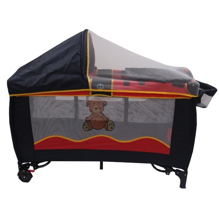 lit parapluie b b bear moustiquaire table langer. Black Bedroom Furniture Sets. Home Design Ideas