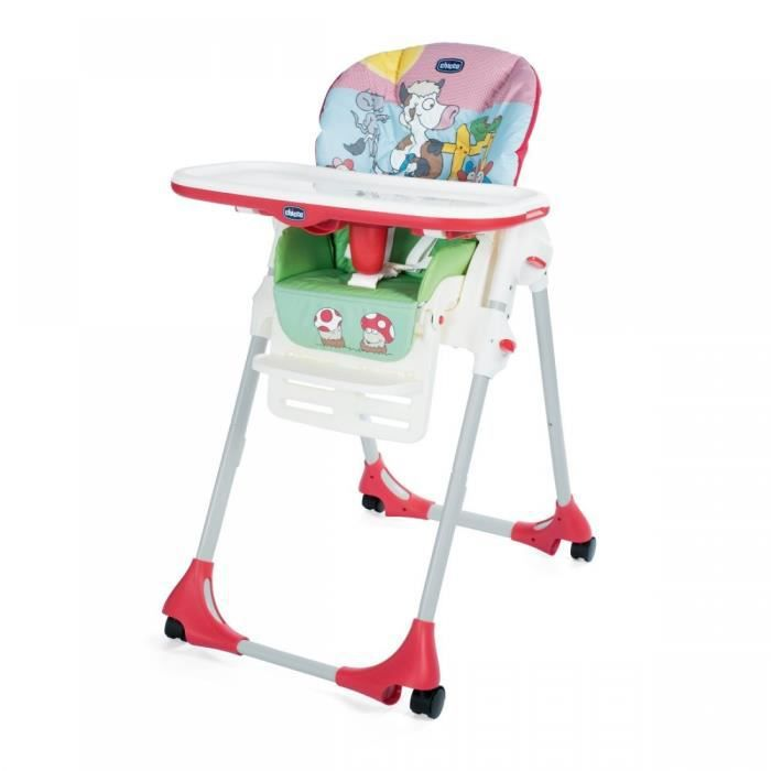Chicco Chaise Polly Easy 4 Roues Contry Farm Achat Vente Chaise Haute 8058664100538 Cdiscount
