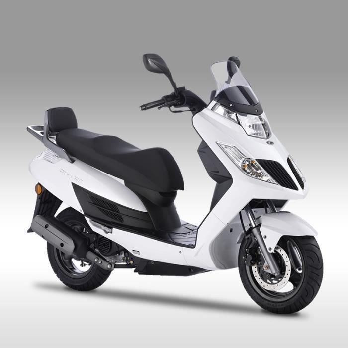 kymco dink 4t 50cc blanc achat vente scooter kymco dink 4t 50cc blanc cdiscount. Black Bedroom Furniture Sets. Home Design Ideas