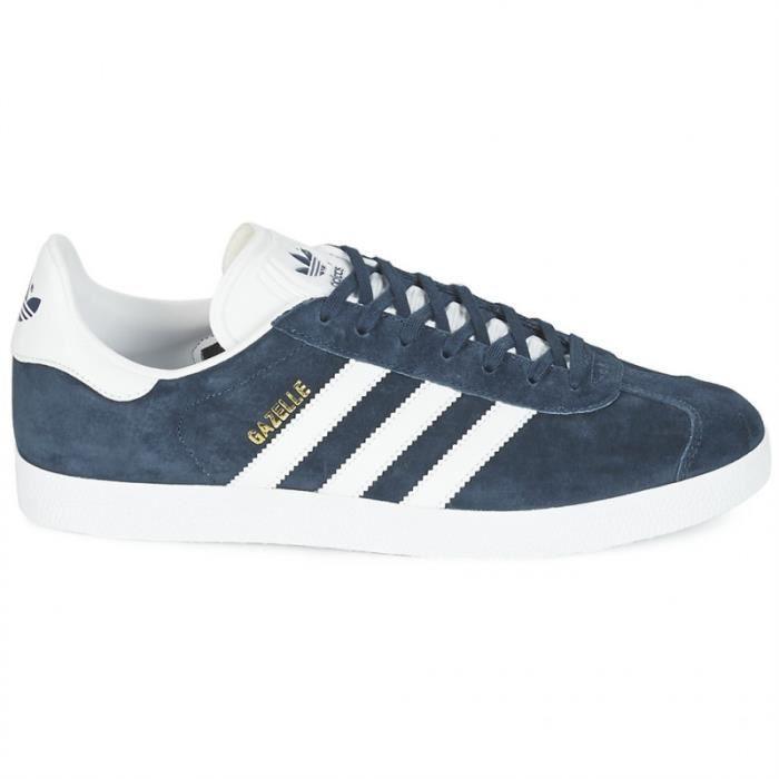 chaussure homme adidas gazelle bleu nevy
