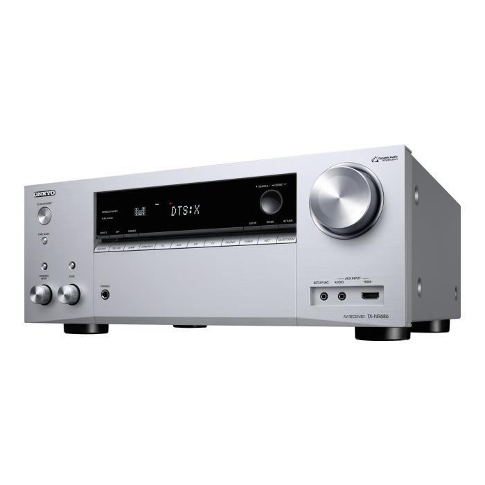 RÉCEPTEUR - DÉCODEUR   Onkyo TX-NR686 Récepteur de réseau AV 4K HDR Canal