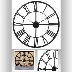 horloge diametre 70 achat vente horloge diametre 70 pas cher cdiscount. Black Bedroom Furniture Sets. Home Design Ideas