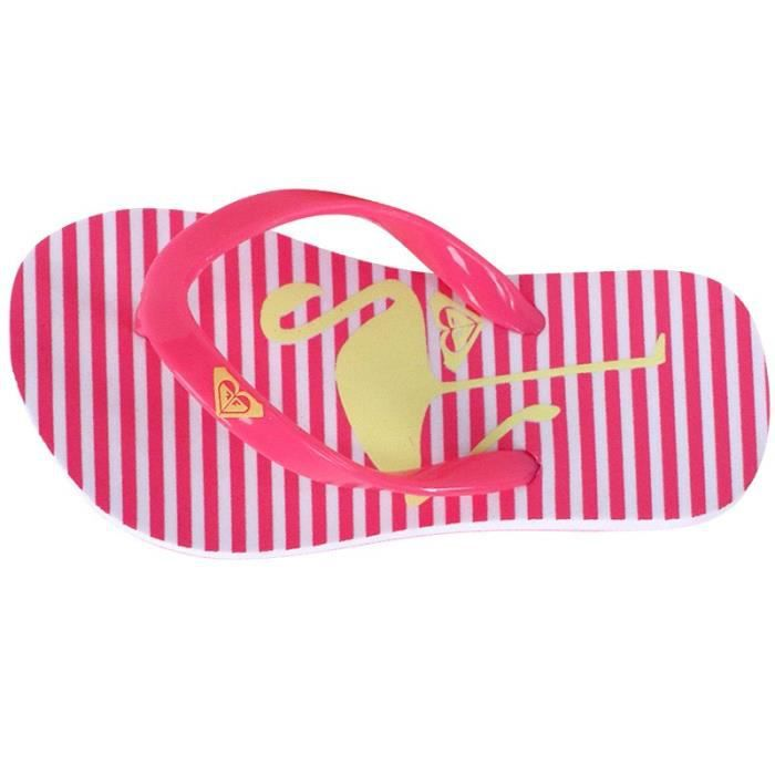 Tongs TW Bamboo 2 Rose Bébé Fille Roxy 2JMXMH
