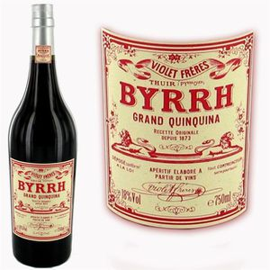 Apéritif à base de vin BYRRH Grand quinquina