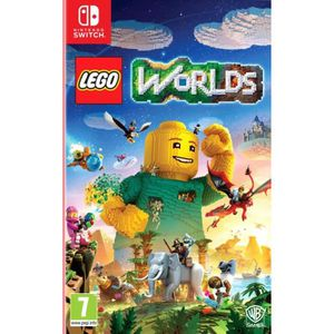 JEU NINTENDO SWITCH Lego Worlds Jeu Switch