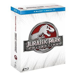 BLU-RAY FILM Blu-ray Coffret Jurassic Park Collection - 1 à 4
