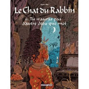 BANDE DESSINÉE Le Chat du Rabbin Tome 6