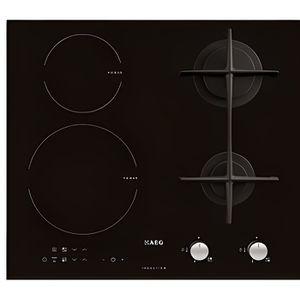 PLAQUE MIXTE Table de cuisson mixte induction AEG HD634170NB