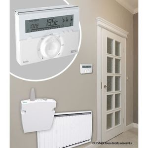 THERMOSTAT D'AMBIANCE Icaverne moderne thermostat d'ambiance branchement