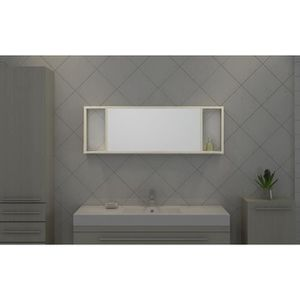 miroir mural avec etagere achat vente miroir mural. Black Bedroom Furniture Sets. Home Design Ideas