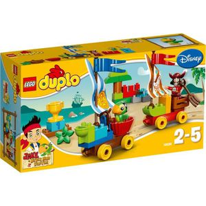 ASSEMBLAGE CONSTRUCTION LEGO DUPLO 10539 Course du Capitaine Crochet