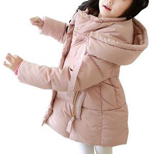 DOUDOUNE Mode Rose Princesse Doudoune Enfant Fille Courte à