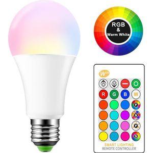 AMPOULE - LED 15W RGBW LED Ampoule E27 Changement de Couleur Atm