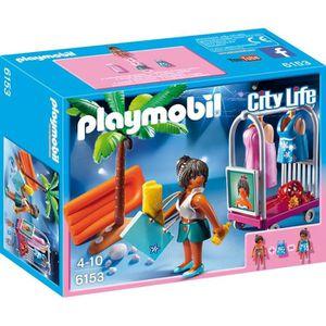 UNIVERS MINIATURE PLAYMOBIL 6153 Top modèle avec tenues de plage