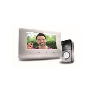 INTERPHONE - VISIOPHONE Kit visiophone V300 filaire compatible avec les mo