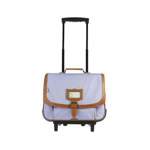 CARTABLE Tann's - Cartable à roulettes lavande 38cm CE1/CE2