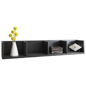 meuble cd mural achat vente meuble cd mural pas cher cdiscount. Black Bedroom Furniture Sets. Home Design Ideas