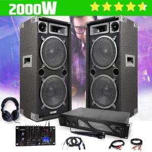 PACK SONO Pack DJ pour Sono Enceintes Passives Bass-reflex 2