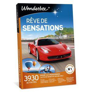 COFFRET SPORT - LOISIRS Wonderbox - Coffret cadeau - Rêve de sensations -