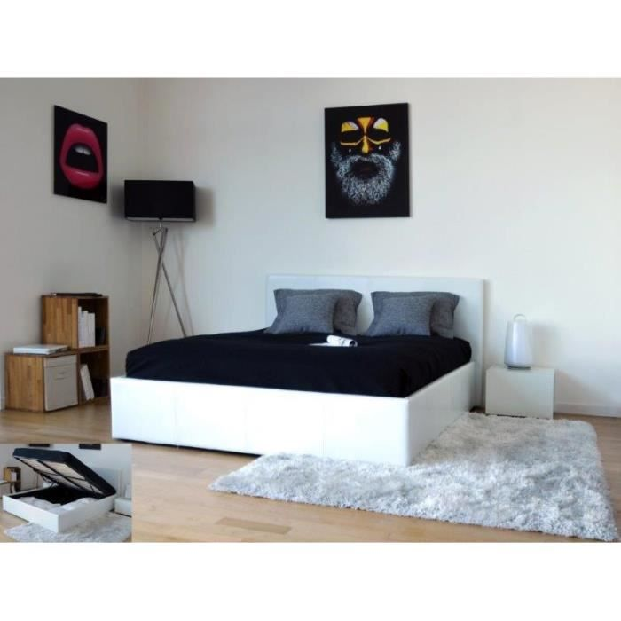 mobilier design lit coffre barcelona. Black Bedroom Furniture Sets. Home Design Ideas