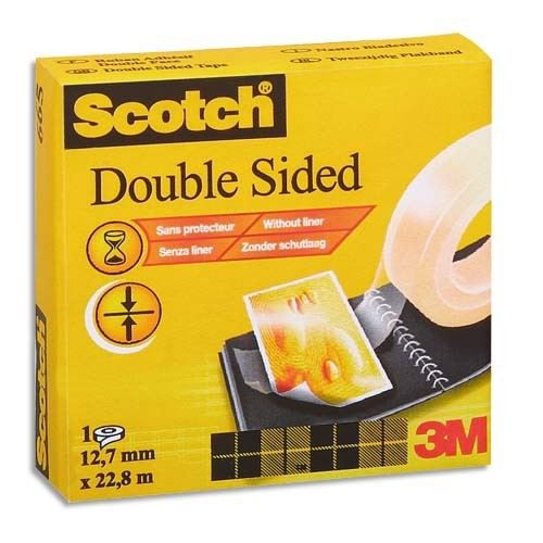 Scotch ruban adh sif double face 12mmx33m achat vente ruban adh sif rubn adh fce665 - Ruban adhesif double face ...
