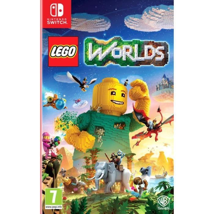 JEU NINTENDO SWITCH Lego Worlds Jeu Switch