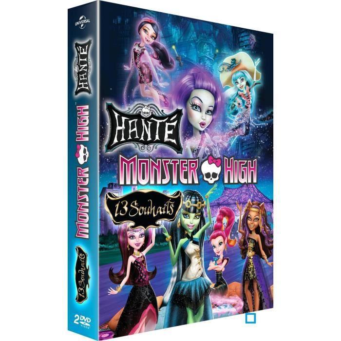 DVD Coffret Monster high Hanté + 13 souhaits