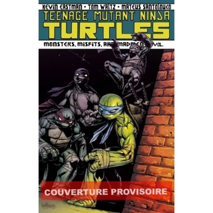 COMICS Teenage Mutant Ninja Turtles - Les tortues ninja T