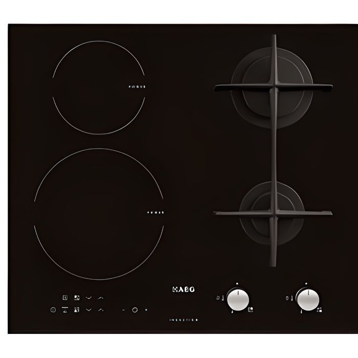 Table de cuisson mixte induction AEG HD634170NB