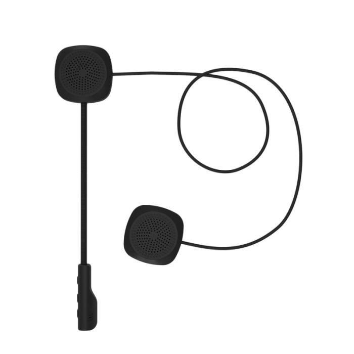 1pc moto interphone sans fil mains libres étanche Bluetooth 5.0 Premium Interphone casque casques INTERCOM - KIT COMMUNICATION