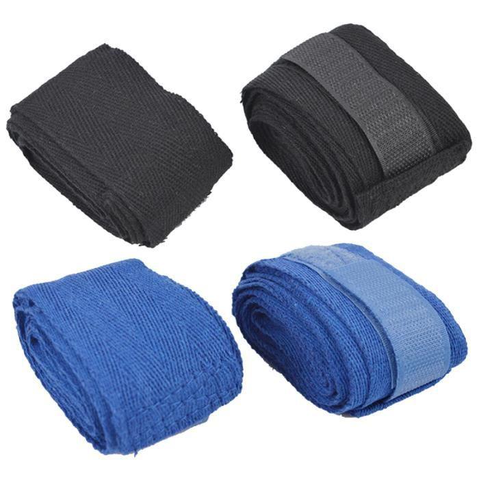 2 paires de sangles de poignet souples de boxe Protection des mains pour d'autres sports de combat TRACTION BAR - DIP STATION