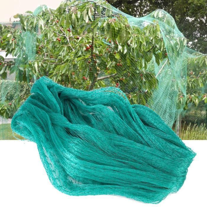 Filet de jardin, filet à oiseaux durable de haute qualité d'utilisation facile à transporter, jardin de conception de maille pour