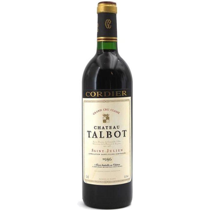Château Talbot 1986 - 75cl AOC Saint-Julien