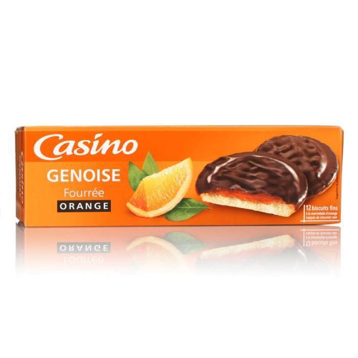 Genoise orange - Fourrée à la marmelade d'orange - 150g