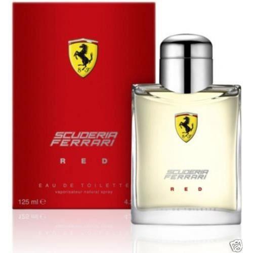 Ferrari Scuderia Ferrari Red Men Eau De Toilette Hommes (125ml)