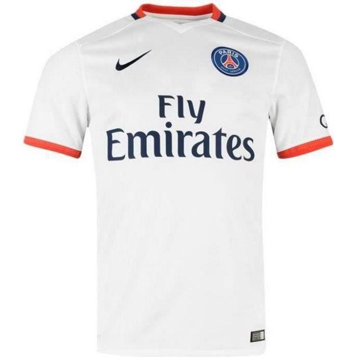 Maillot Garcon Nike PSG Paris Saint-Germain Away Saison 2015 2016