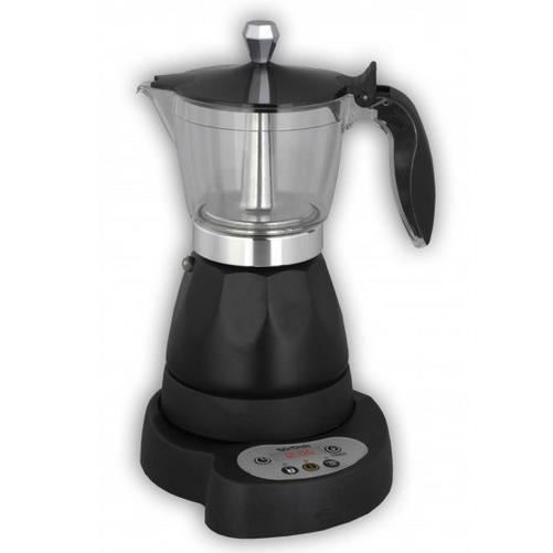Mx Onda MX-CE2254, Autonome, Cafetière moka électrique, 0,3 L, Café moulu, 480 W, Noir