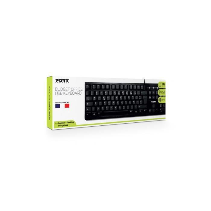 Port Designs Clavier Keyboard office budget Bulk Fr
