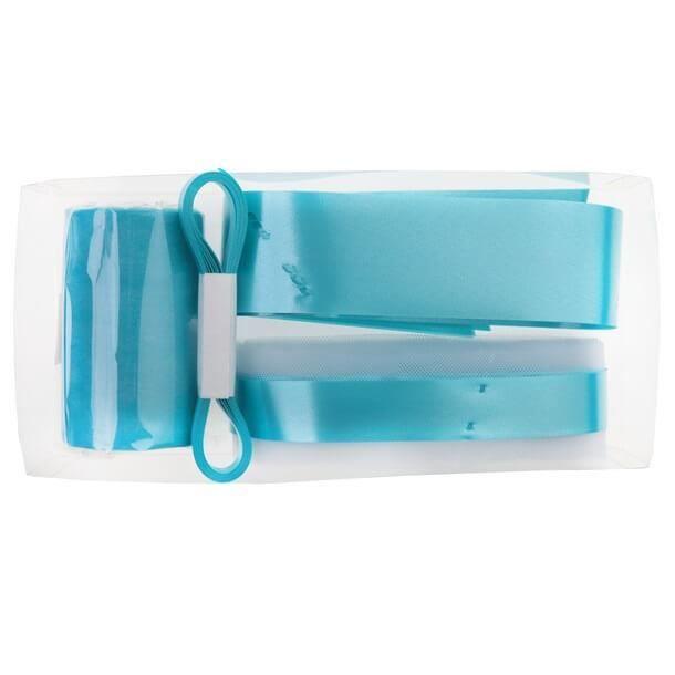 Kit de décoration voiture mariage: Bleu turquoise (x1) REF/70189