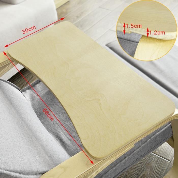 SoBuy® FBT33-N Table Tablette Support uniquement pour de Fauteuil à bascule rocking chair