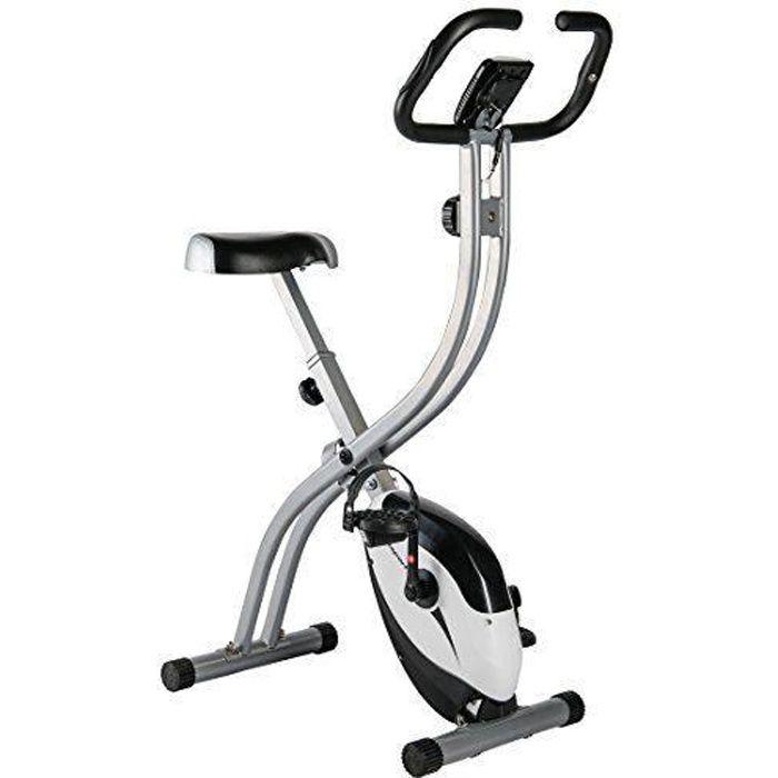 Ultrasport Vélo d`Appartement Mixte Adulte, Argent/Noir, Taille Unique - 331100000271
