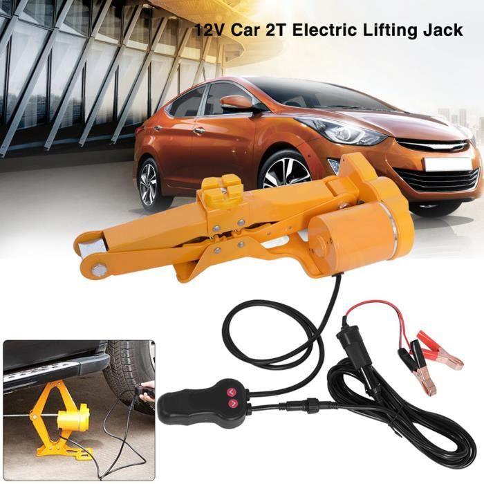 2 Tonnes Cric Jack de Levage 12V DC Voiture Automatique Électrique Équipement d'Urgence HB028 -WER VGEBY®