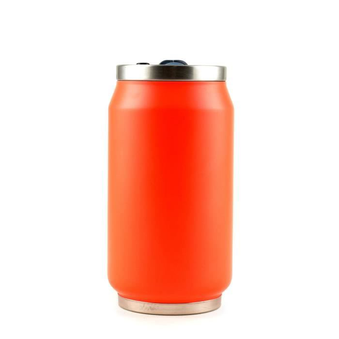 YOKO DESIGN Canette isotherme summer 280ml fluo orange